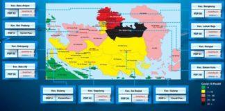 Peta Sebaran di Batam