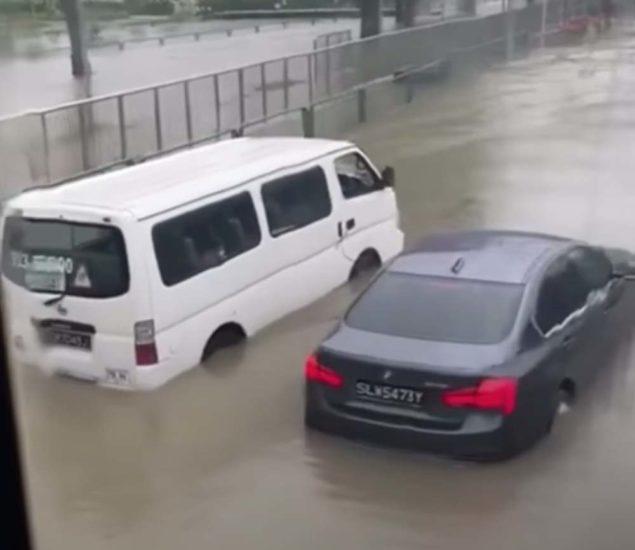 Banjir Singapura